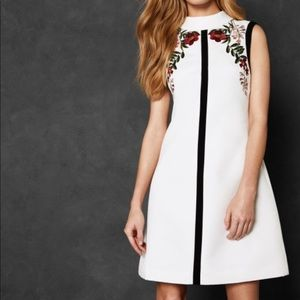 Ted Baker AIMMIID Embroidered Shift Dress